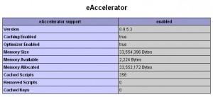 Расширение eaccelerator
